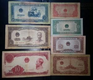 Bộ tiền giấy VNDCCH 1958