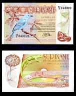Suriname – 2.5 gulden – UNC