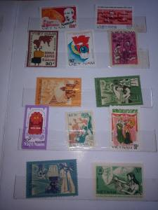 Album tem sưu tầm Việt Nam 70 tem