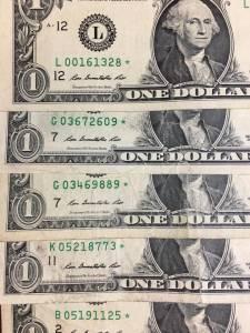 1 đô ngôi sao *