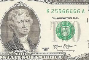 2 đô la 66666 ngũ quý 6 2013