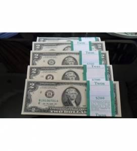 2 USD | ĐỔI 2 USD LÌ XÌ TẾT | 2 USD 2009 | 2 USD 2013