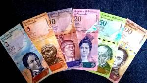 Bộ tiền Venezuela 6 tờ