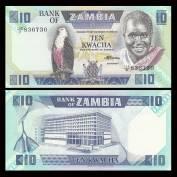 Zambia 10 Kwacha, 1986-1988, P-26e, UNC.jpg