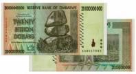 Zimbabwe 20 tỷ đô 2008