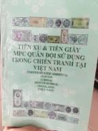 sách tiền xu và tiền giấy MPC quân đội sử dụng trong chiến tranh tại Việt Nam