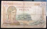 Pháp 50 Francs 1936 F