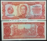Uruguay 100 peso 1967 UNC