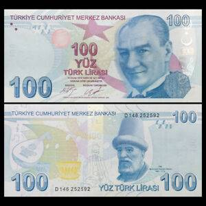 Turkey 100 Lira 2009 P-226c
