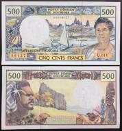 New Caledonia Nouvelle-Calédonie 500 Francs UNC