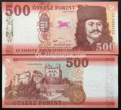 Hungary-500-Froint-UNC-2018