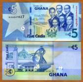 Ghana-5-Cedis-UNC-NEW-2019