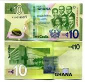 Ghana-10-Cedis-UNC-NEW-2019