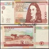 Colombia 10,000 Pesos UNC 2014