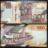 EB Kenya 1000 Shillings UNC New  2019