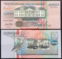 Suriname 1000 Gulden UNC 1995
