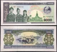 Lào 1000 Kip UNC 2003