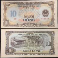 VIỆT NAM 10 ĐỒNG 1981 XF AUNC