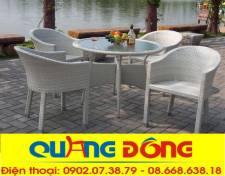 bộ ghế cafe QD-188