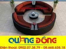 Sofa mây nhựa QD-622