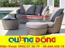 Sofa mây nhựa QD-615