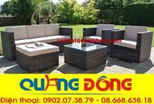 Sofa mây nhựa QD-623