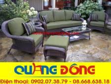 Sofa mây nhựa QD-635