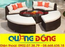 Sofa mây nhựa QD-628