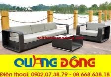 Sofa mây nhựa QD-618