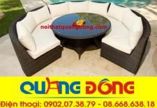 Sofa mây nhựa QD-627
