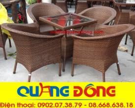 bàn ghế cafe QD-074s