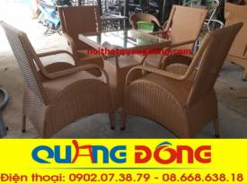 bộ bàn ghế cafe cao cấp QD-272