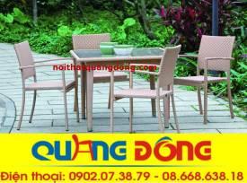 bàn ghế cafe qd-269