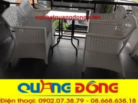 bàn ghế cafe QD-303s