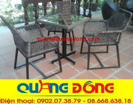 bàn ghế cafe cao cấp QD-305
