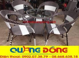 bàn ghế cafe QD-075