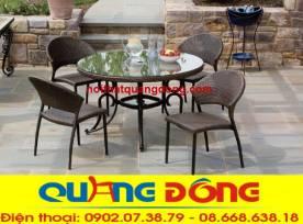bàn ghế cafe QD-312