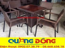 bàn ghế cafe QD-306