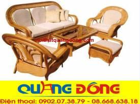 bộ sofa mây tự nhiên QD-808