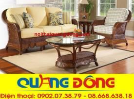 sofa mây tự nhiên QD-809