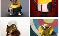 Bộ sưu tập hình nền Minions vui nhộn cho iPad/iPhone