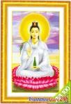 Phật Quan Âm tọa đài sen JG006