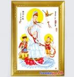Mẫu thêu Quan Thế Âm Bồ Tát Và Hai Tiểu Đồng - YR264