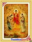 Tam Thế Phật (khổ lớn) - YA422