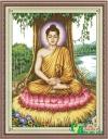 Phật tổ ngồi gốc Bồ ...