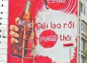 Sự nổi trội của biển quảng cáo nước uống