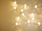 Đèn trang trí hình ngôi sao handmade