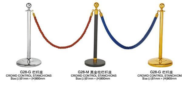 Cột chắn inox G28-G-G28-M-G28-G