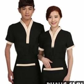 Chi tiết chủ đạo khiến bộ đồng phục nhân viên nhà hàng đẹp