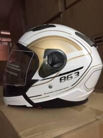 Mũ bảo hiểm có che hàm rời 863A